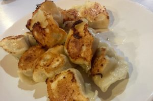 Dumplings at Noodles and Dumplings, Palmerston North