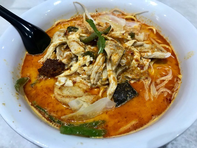 Malacca Restaurant, Disappointing Laksa In Brisbane CBD