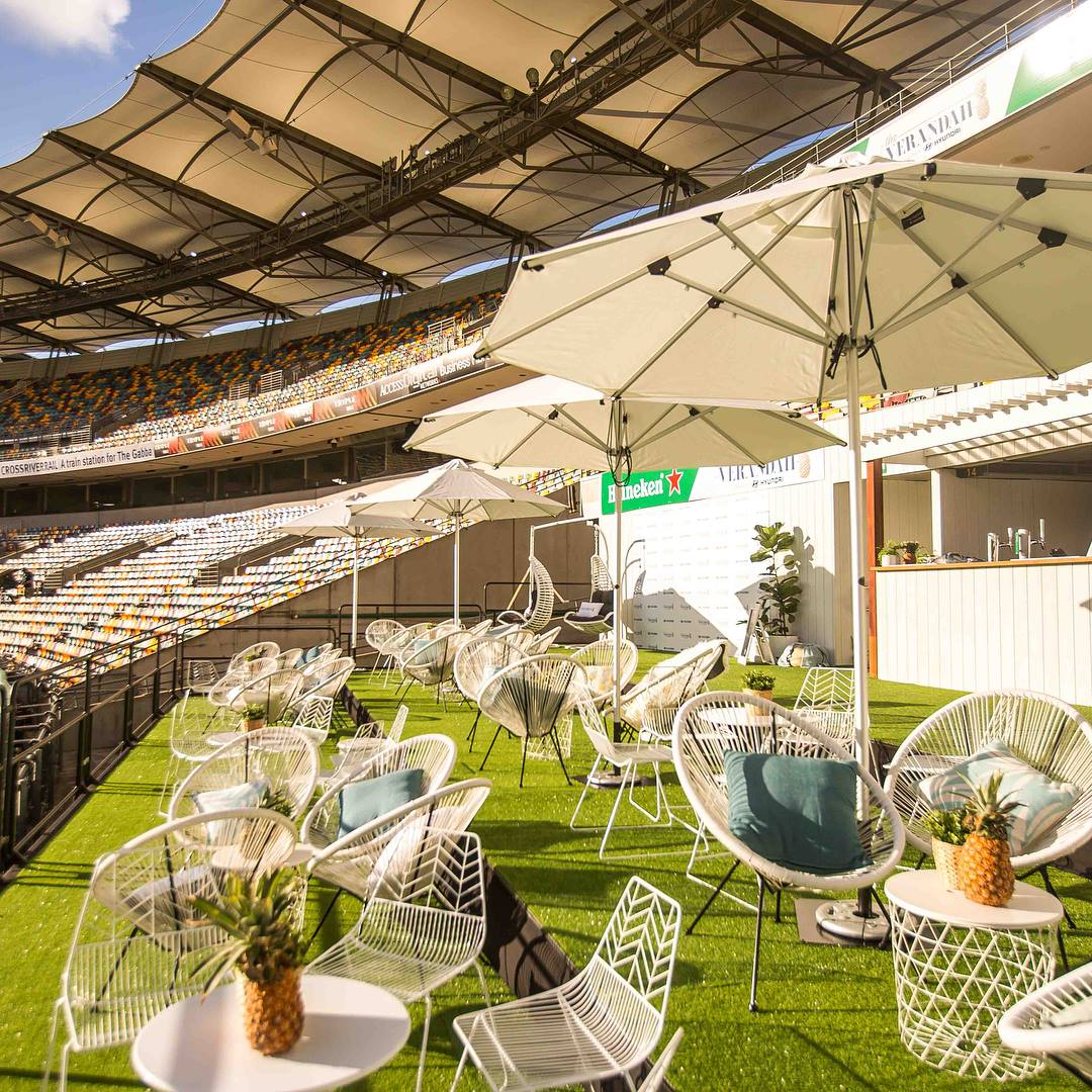 The Only Way To Watch The Footy At The Gabba – The Verandah!