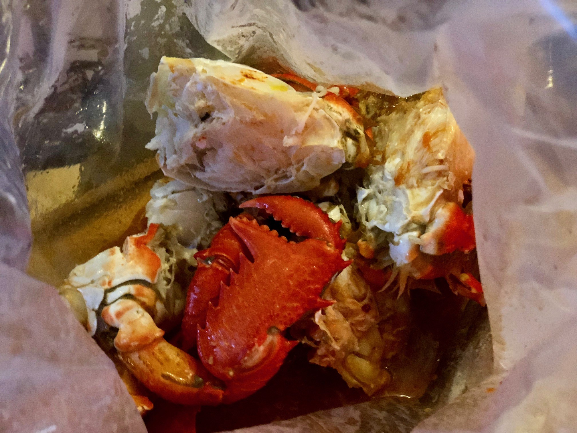 Musseling in at King Crab Co, Bulimba