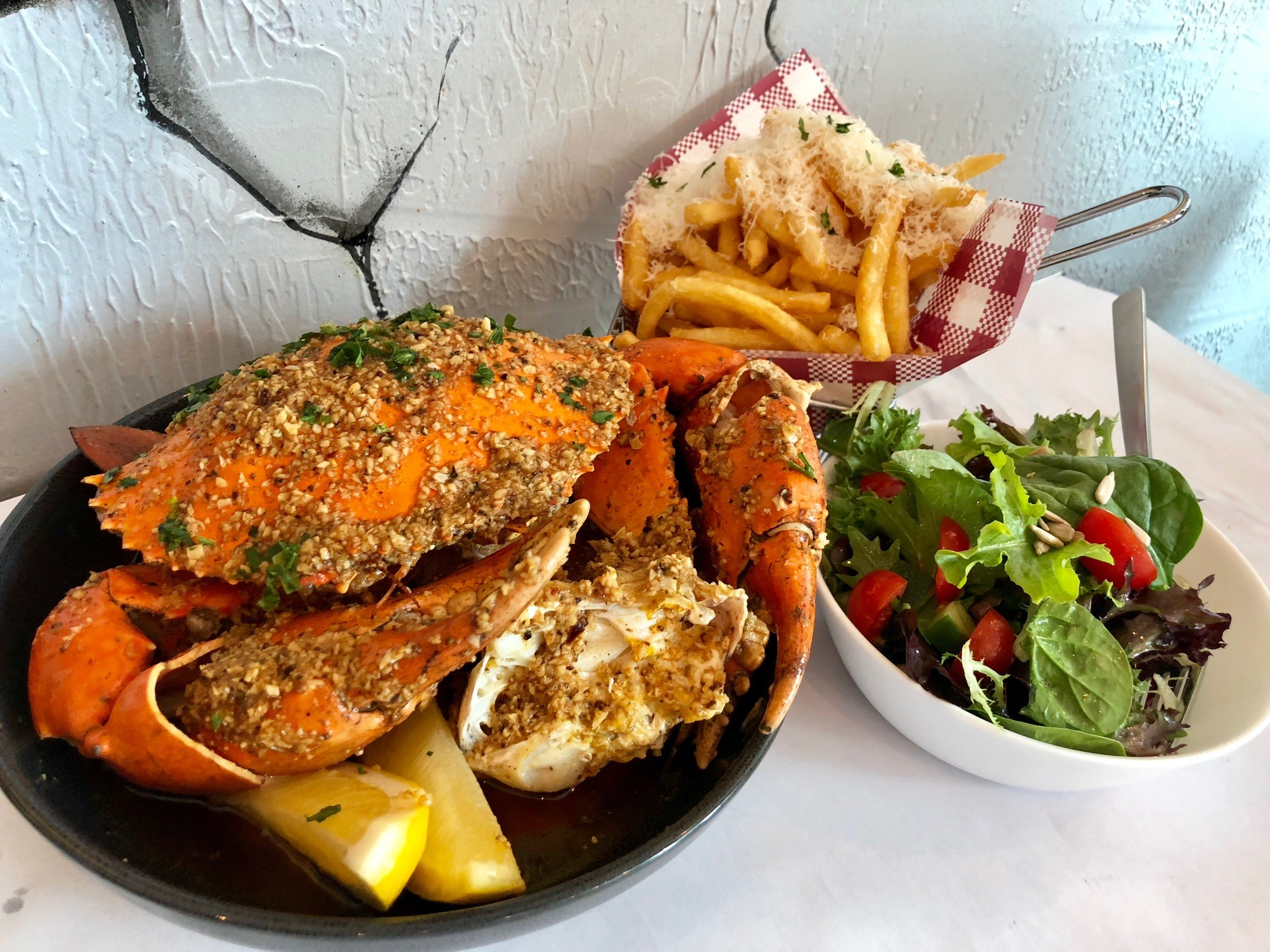 Canapes and Crab Feast At St James Crabhouse, Brisbane