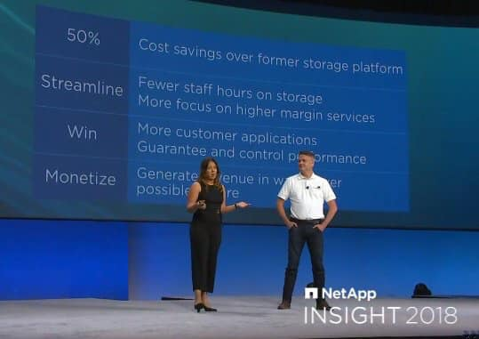 NetApp Insights; That Time I Presented a Keynote for 5,000
