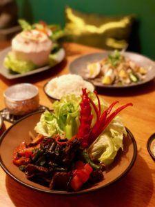 Traditional Thai at Mekhong Brisbane