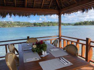 Erakor Island Resort restaurant