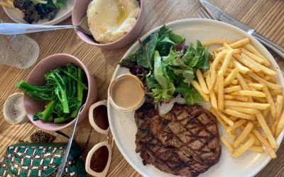 Delicious steak at Bakehouse Steakhouse, Ipswich