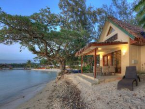 Erakor Island Resort beachfront family lodge villa