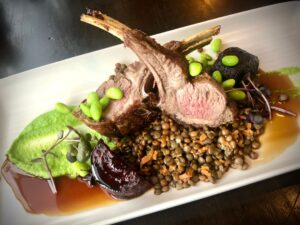 The Strong Room Restaurant Feilding lamb