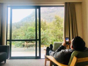 Milford Sound Lodge views